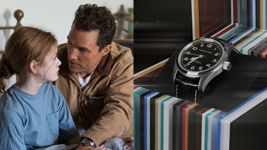 Cooper EUREKA fashion Hamilton Interstellar Khaki Field Murph Murph watch นาฬิกา แฟชั่น
