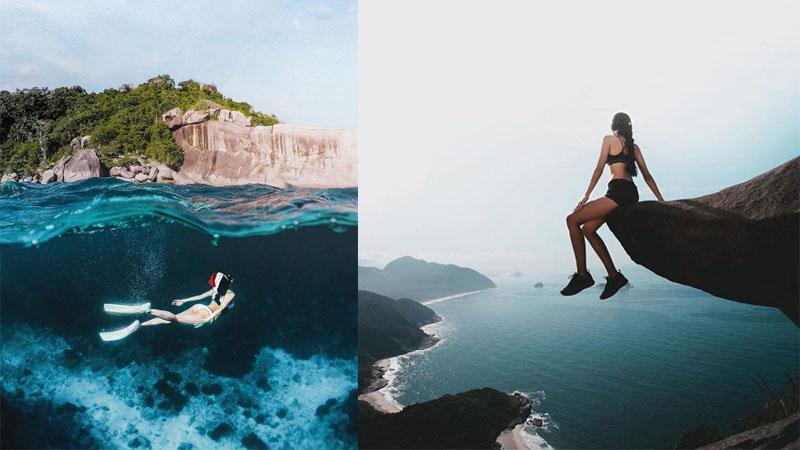 Jajatanti : Extreme Traveler/ Travel Photographer จ๊ะจ๋า-ภัทราพร ตันติวัตนะ ทริปเอ็กซ์ตรีม ท่องเที่ยว นักท่องเที่ยว ว่ายน้ำกับฉลาม เที่ยวต่างประเทศ