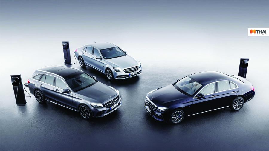 B-Class c-class E-Class EQ GLB SUV GLC GLE Mercedes-Benz S-Class รถยนต์ Plug In Hybrid