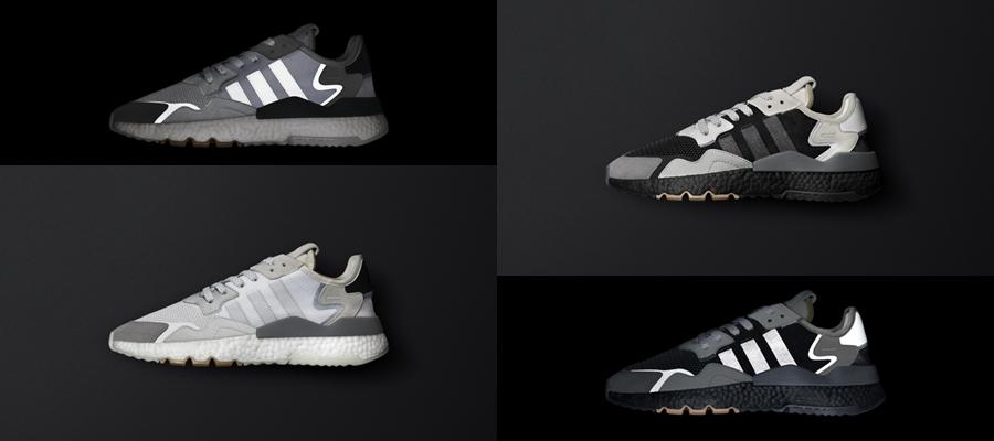adidas adidas Originals Boost fashion Nite Jogger ripstop Sneaker รองเท้า สนีกเกอร์ อาดิดาส แฟชั่น