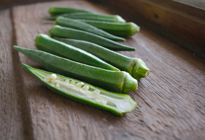 กระเจี๊ยบเขียว ผัก ผักพื้นบ้าน เบาหวาน โรคเบาหวาน