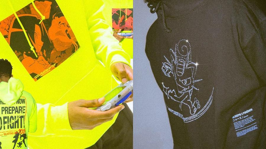 10.Deep fashion Meowth Pikachu Pokemon streetwear Team Rocket The Rivals Group สตรีทแวร์ แฟชั่น