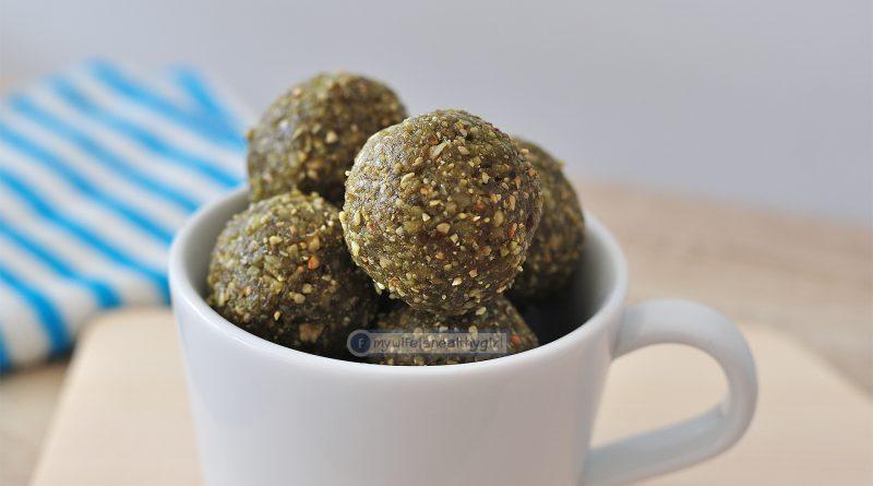 Clean food Energy Ball Power Ball ขนมคลีน ชาเขียว อาหารคลีน อาหารเพื่อสุขภาพ