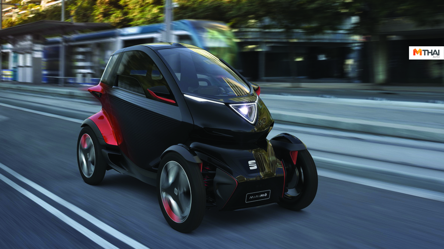 Electric Minimo Geneva Motor Show 2019 Mobile World Congress 2019 Renault Twizy Seat SEAT Electric Minimo รถตัว Concept