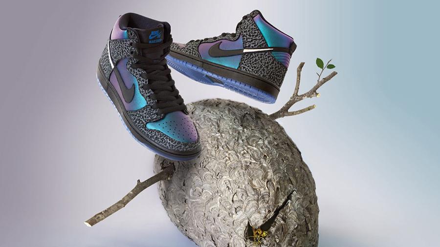 Black Hornet Black Sheep Skate Shop Dunk High fashion NBA All Star 2019 nike nike sb Sneaker รองเท้า สนีกเกอร์