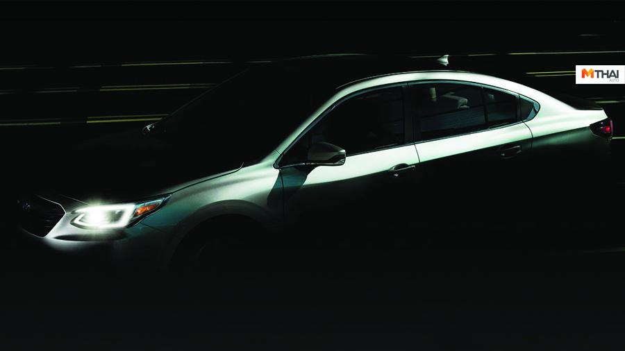 Ascent Chicago Auto Show 2019 Forester Hyundai Sonata Impreza mazda6 Subaru Legacy 2020 Toyota Camry ภาพ teaser
