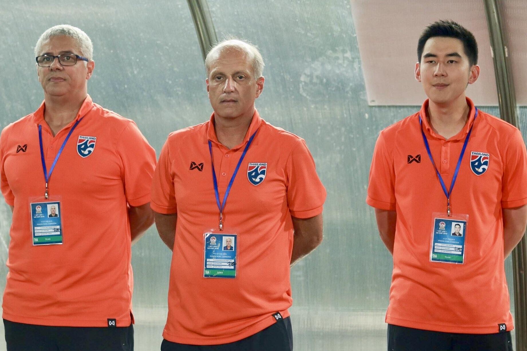ชิงแชมป์อาเซียน 2019 ทีมชาติอินโดนีเซีย U22 ทีมชาติไทย U22 อเล็กซานเดร กามา