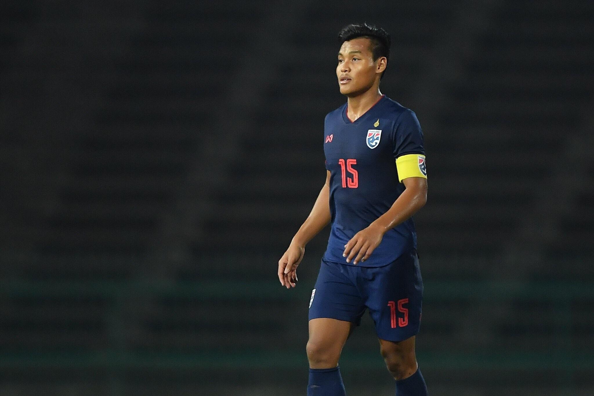 ทีมชาติอินโดนีเซีย U22 ทีมชาติไทย U22 ศฤงคาร พรมสุภะ