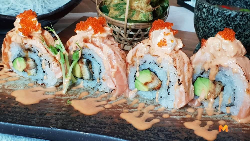 The Glass House Silver ซีฟู้ด นาเกลือ พัทยา ริมหาด อาหารญี่ปุ่น อาหารอิตาเลียน