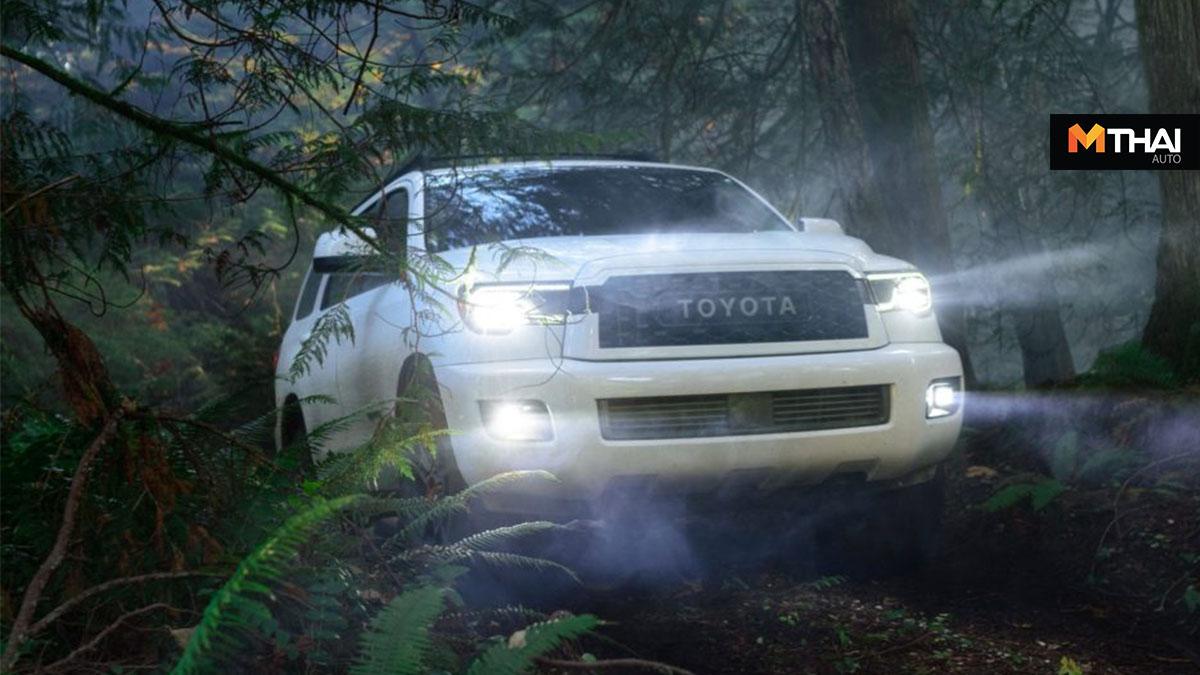 4 Runner TRD Pro suv Tacoma TRD Pro Toyota Sequoia ออฟโรด