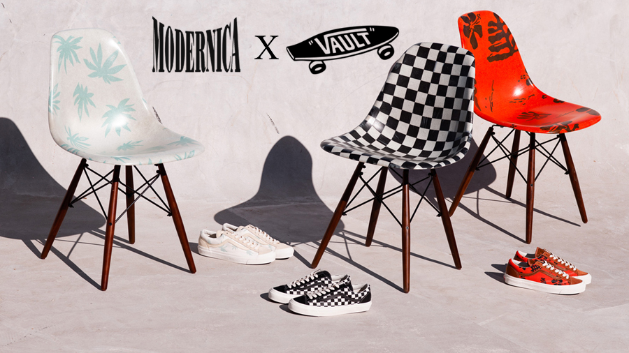 Modernica Slip on Sneaker Style 36 vans Vans Vault รองเท้า สนีกเกอร์ แฟชั่น