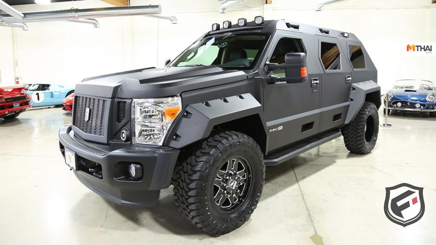 Bentley Bentayga Ford F-450 Super Duty Rhino GX US Specialty Vehicles USSV