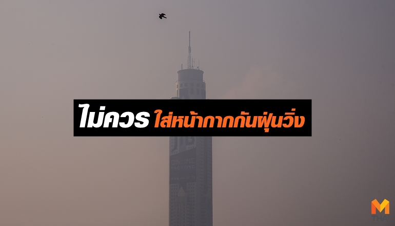 PM2.5 ฝุ่น ฝุ่นละออง