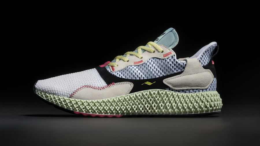4D adidas Adidas ZX 4000 4D adidas} Consortium Primeknit Sneaker ZX 4000 4D สนีกเกอร์ อาดิดาส