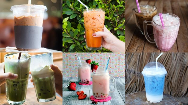 ชากุหลาบ ชานม ชาไทย น้ำเก๊กฮวย สูตรเครื่องดื่ม อัญชัน เครื่องดื่ม โกโก้