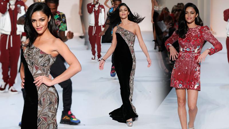 New York Fashion Week Sherri Hill มิสยูนิเวิร์ส มิสยูนิเวิร์ส 2018 มิสยูนิเวิร์สเปอร์โตริโก