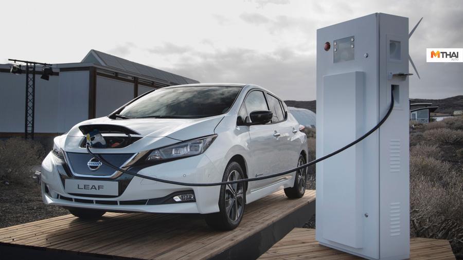 nissan nissan LEAF นิสสัน เอเชีย และโอเชียเนีย รถยนต์พลังงานไฟฟ้า วิดีโอซีรีส์เพื่อการศึกษา เทคโนโลยี