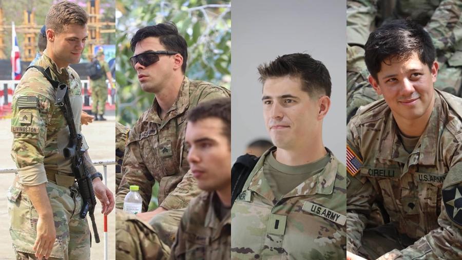 Cobra Gold 2019 ทหาร ทหารอเมริกันฝึกทหาร หนุ่มในเครื่องแบบ