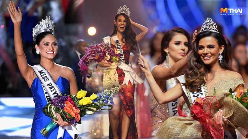 Miss-Universe นางงามฟิลิปปินส์ ประกวดนางงาม มิสยูนิเวิร์ส มิสยูนิเวิร์ส 2018 แคทรีโอนา เกรย์