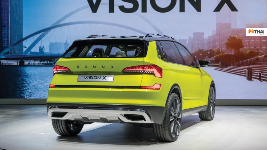 Geneva Motor Show 2019 Seat Ibiza Skoda Skoda Kamiq Vision X Volkswagen Polo Mk6 รถ SUV