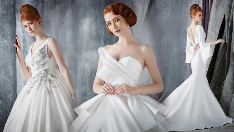 งานแต่งงาน ชุดเจ้าสาว ชุดแต่งงาน ชุดแต่งงาน 2019 วนัช กูตูร์