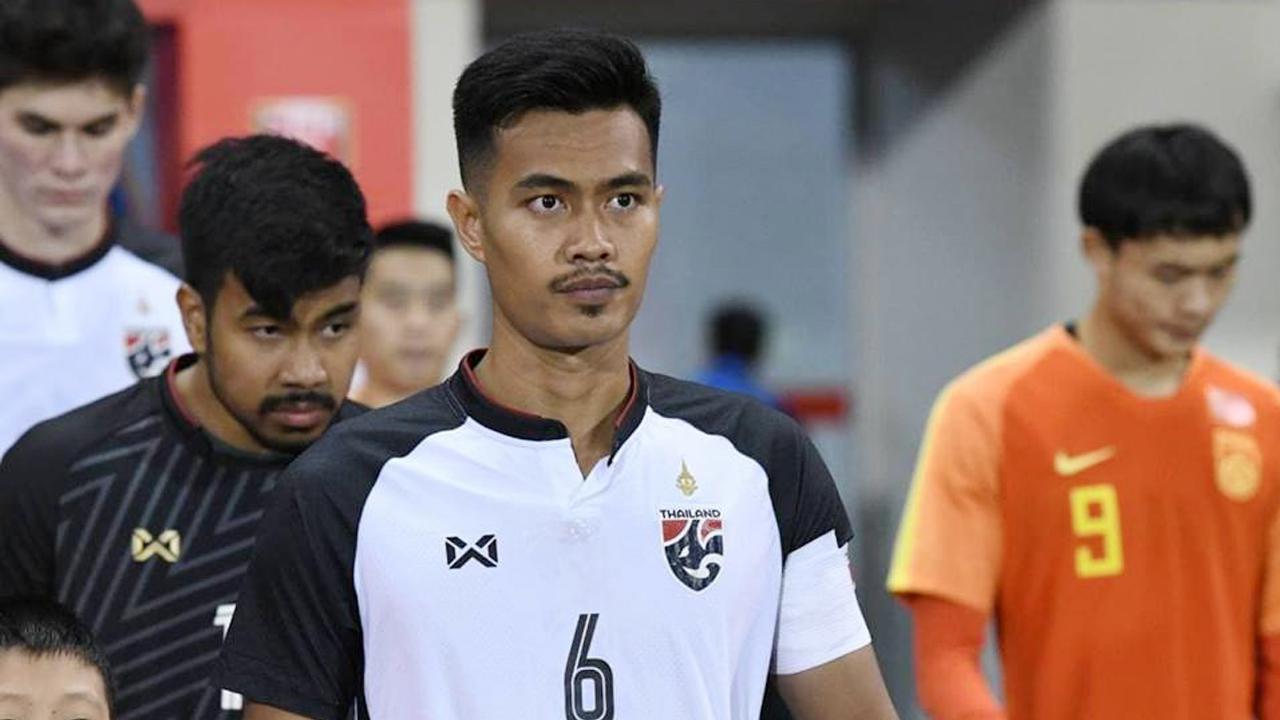 ชินภัทร ลีเอาะ ทีมชาติไทย U23 อเล็กซานเดร กามา