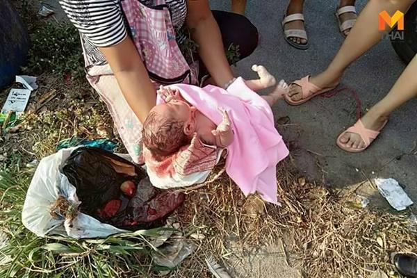 ข่าวจังหวัดชลบุรี ข่าวสดวันนี้ ทิ้งทารกในถังขยะ ทิ้งลูก แม่ใจยักษ์
