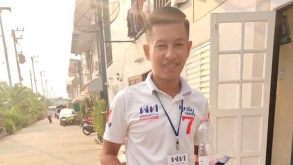 งานบวช งานบวชเปิดเพลงเสียงดัง ชาญวุฒิ พวงรัตน์ ด่านักศึกษา พรรคเพื่อไทย