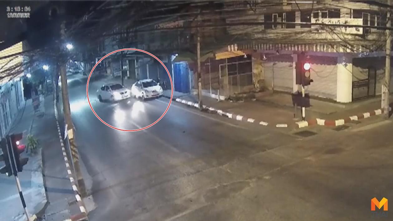 ข่าวภูมิภาค จอดรถข้างท้าง ชนแล้วหนี อุบัติเหตุ