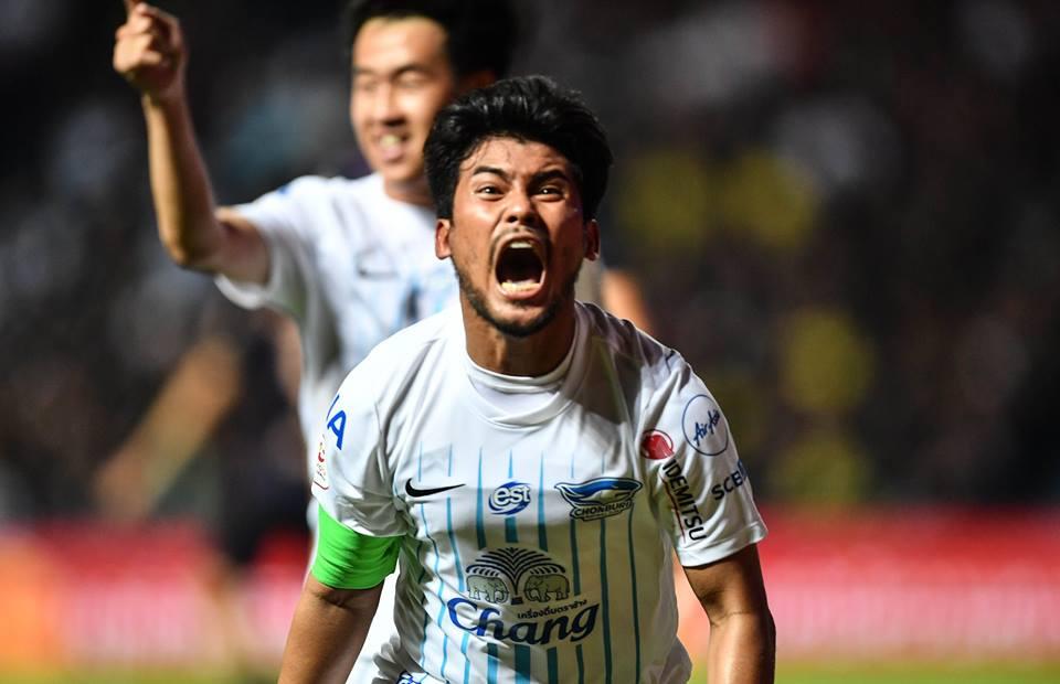 ชลบุรี เอฟซี ทีมชาติไทย เกริกฤทธิ์ ทวีกาญจน์ ไชน่า คัพ 2019