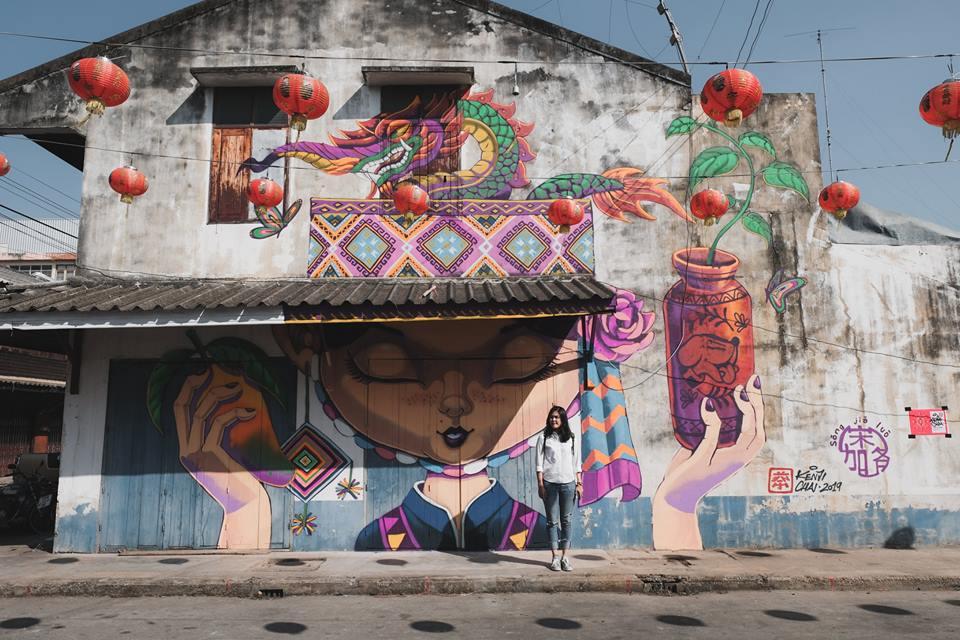 ที่เที่ยวสวรรคโลก ที่เที่ยวสุโขทัย ศิลปะบนกำแพง สตรีทอาร์ต สตรีทอาร์ต สวรรคโลก เที่ยวสวรรคโลก เที่ยวสุโขทัย