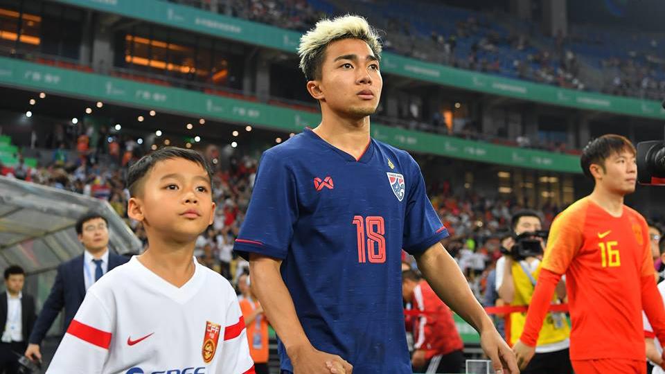 ชนาธิป สรงกระสินธ์ ทีมชาติจีน ทีมชาติไทย ไชน่า คัพ 2019