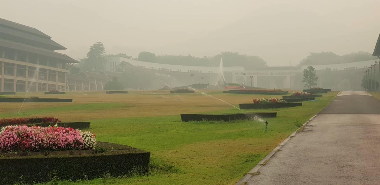 PM2.5 ปัญหาหมอกควัน ม.แม่ฟ้าหลวง หมอกควันภาคเหนือ