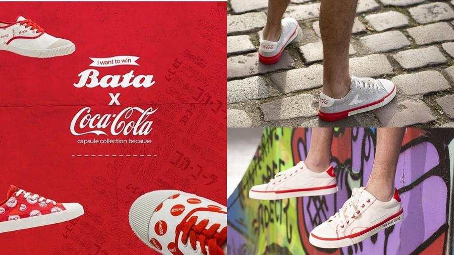 Bata Bata Heritage Bata Hotshots Bata Tennis coca cola fashion Iconic Capsule Collection the real thing บาจา รองเท้า สนีกเกอร์ แฟชั่น