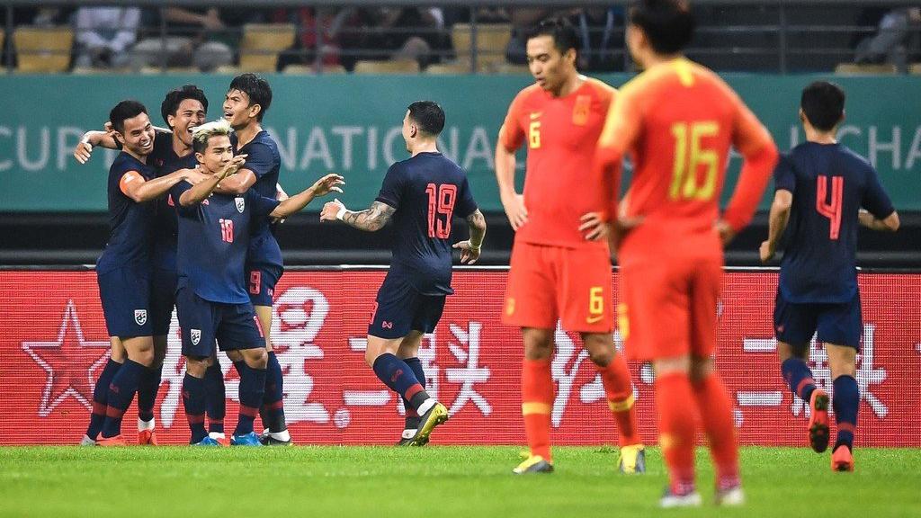 ทีมชาติอุรุกวัย ทีมชาติไทย ไชน่า คัพ 2019