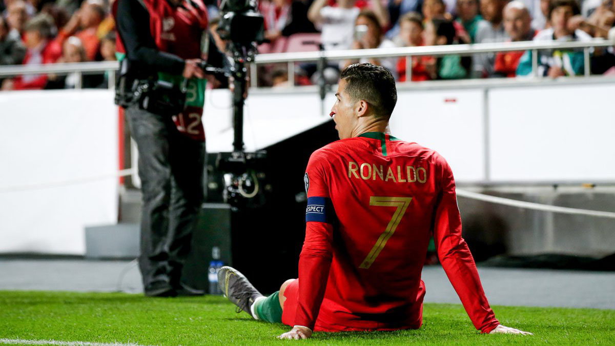 คริสเตียโน่ โรนัลโด้ ทีมชาติโปรตุเกส ยูโร 2020 ยูโร 2020 รอบคัดเลือก โรนัลโด
