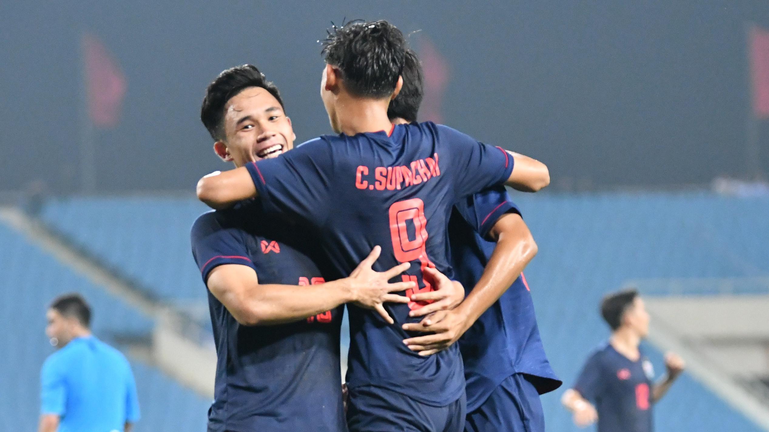 ชิงแชมป์เอเชีย รุ่นอายุไม่เกิน 16 ปี ทีมชาติอินโดนีเซีย U23 ทีมชาติไทย U23
