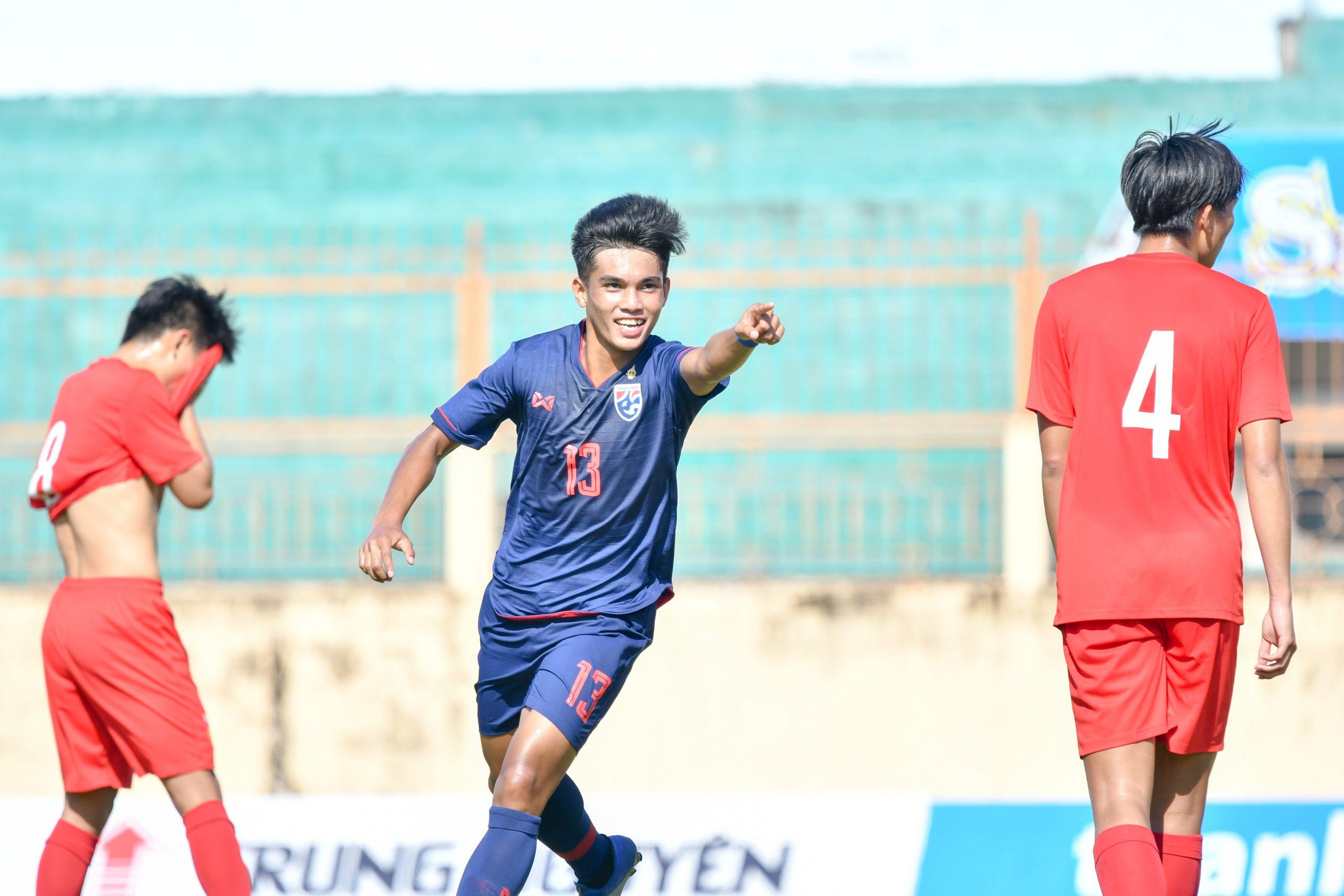 VFF International Tournament ทีมชาติจีน U19 ทีมชาติไทย U19