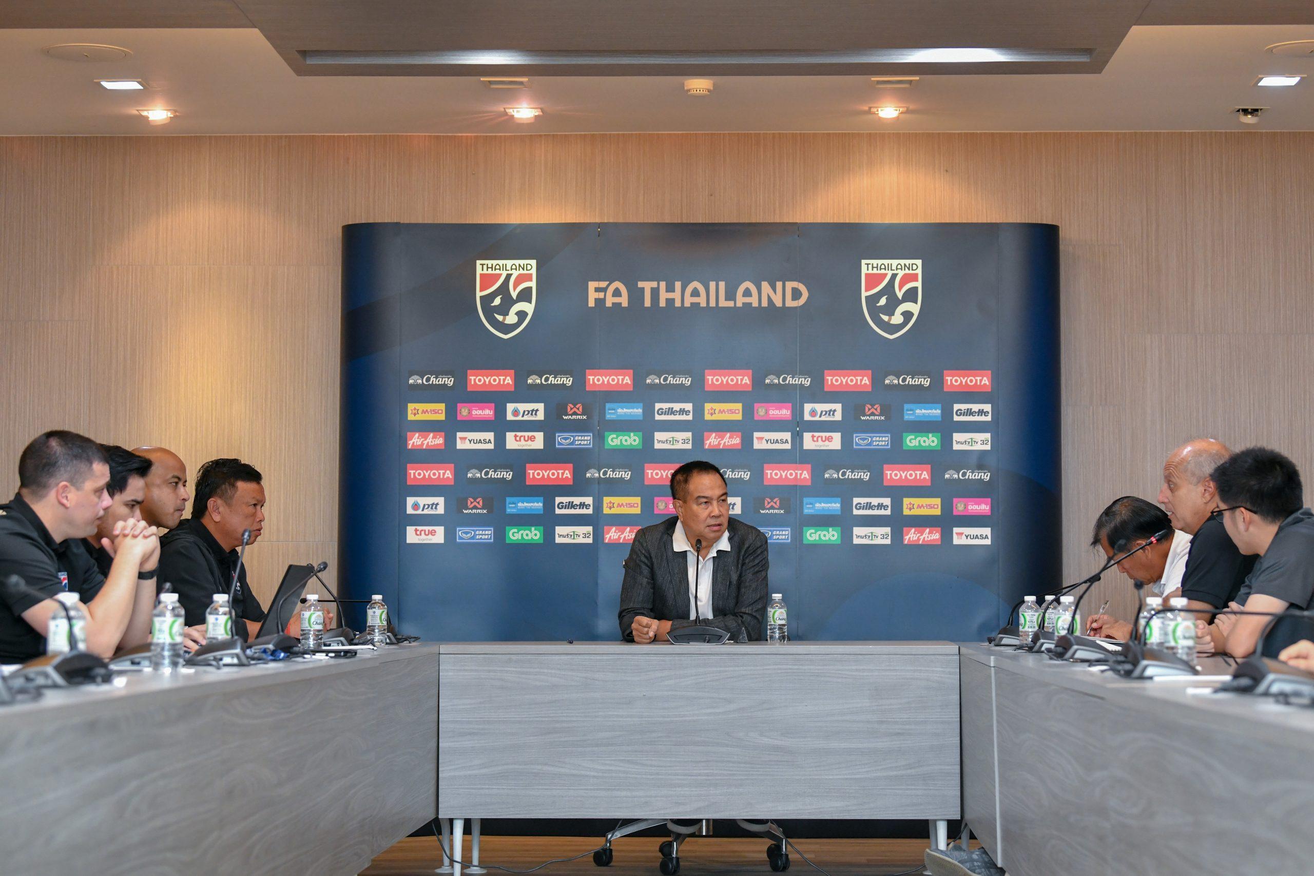 ชิงแชมป์เอเชีย U23 ทีมชาติไทย ทีมชาติไทย U23 สมยศ พุ่มพันธุ์ม่วง อเล็กซานเดร กามา ไชน่า คัพ 2019