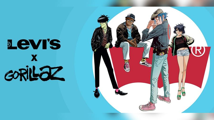 2D Blur Damon Albarn fashion g-shock Gorillaz Levi?s Murdoc Niccals noodle Russel Hobbs เครื่องแต่งกาย แฟชั่น