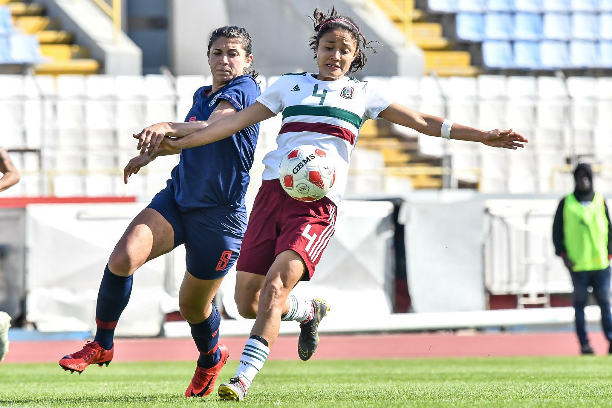 ฟุตบอลหญิงทีมชาติเม็กซิโก ฟุตบอลหญิงทีมชาติไทย ไซปรัส คัพ 2019