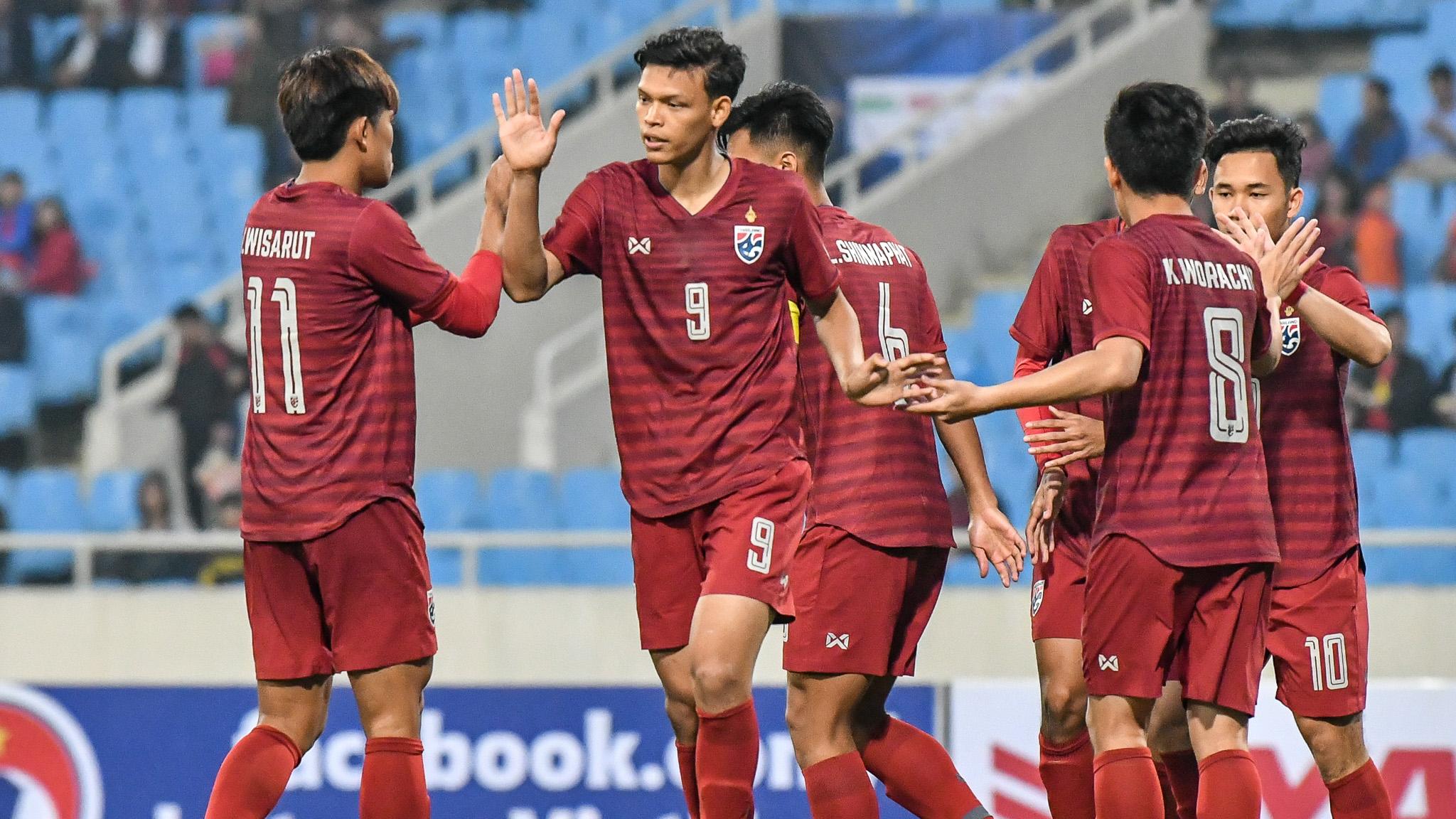 ชิงแชมป์เอเชีย รุ่นอายุไม่เกิน 16 ปี ทีมชาติบรูไน U23 ทีมชาติไทย U23