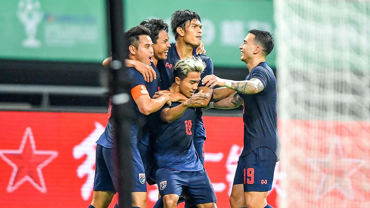 ชนาธิป สรงกระสินธ์ ทีมชาติจีน ทีมชาติไทย ผลบอล ผลบอล ทีมชาติไทย ผลบอลไทย ไชน่า คัพ 2019