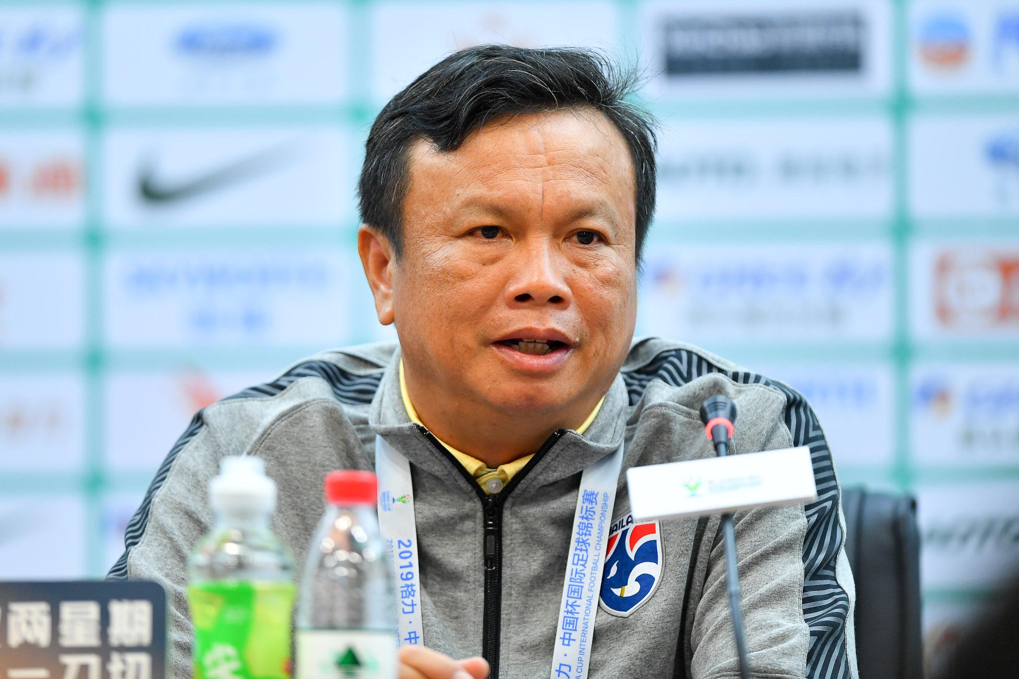 ทีมชาติจีน ศิริศักดิ์ ยอดญาติไทย สุพรรณ ทองสงค์ ไชน่า คัพ 2019