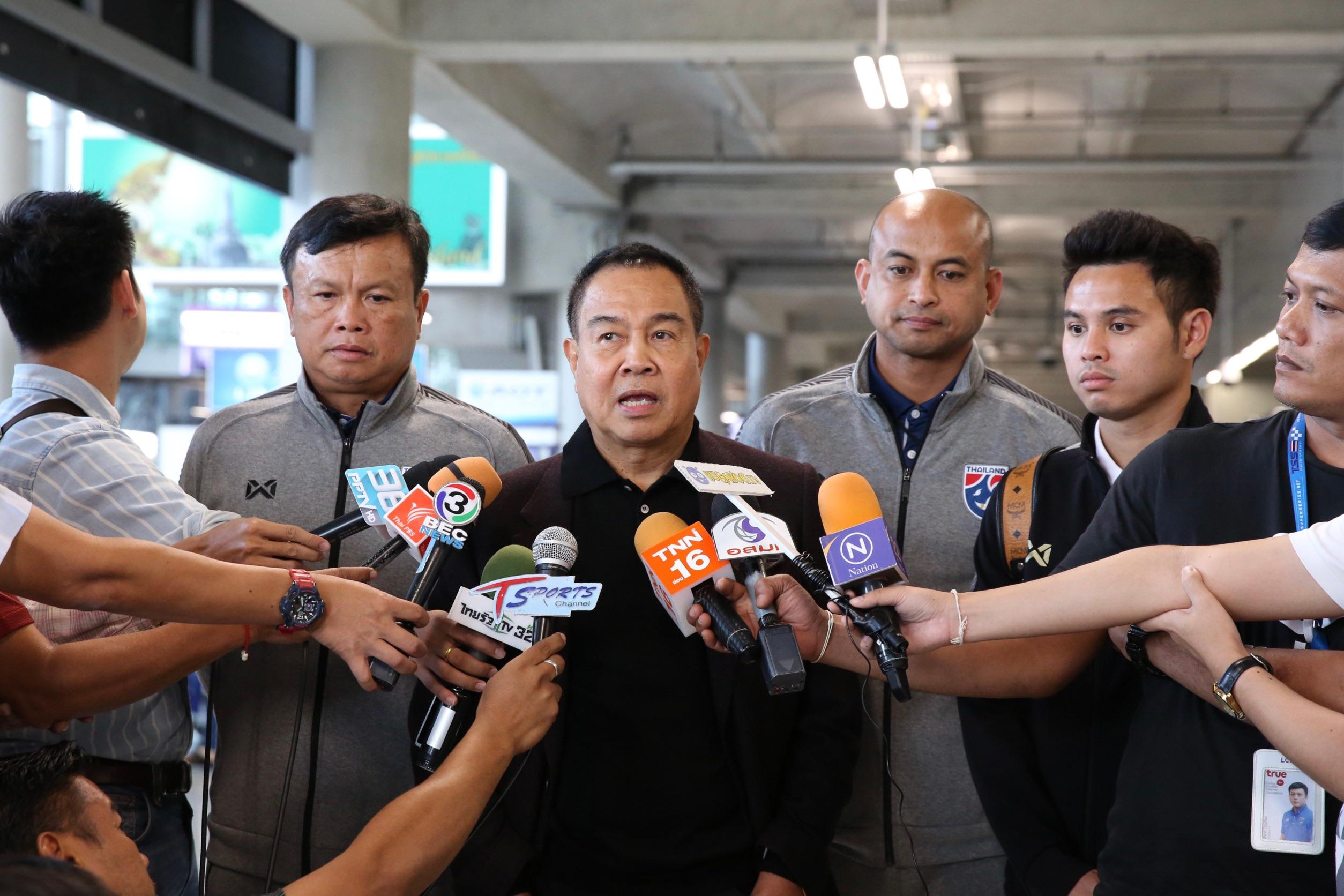 คิงส์คัพ 2019 ทีมชาติไทย สมยศ พุ่มพันธุ์ม่วง