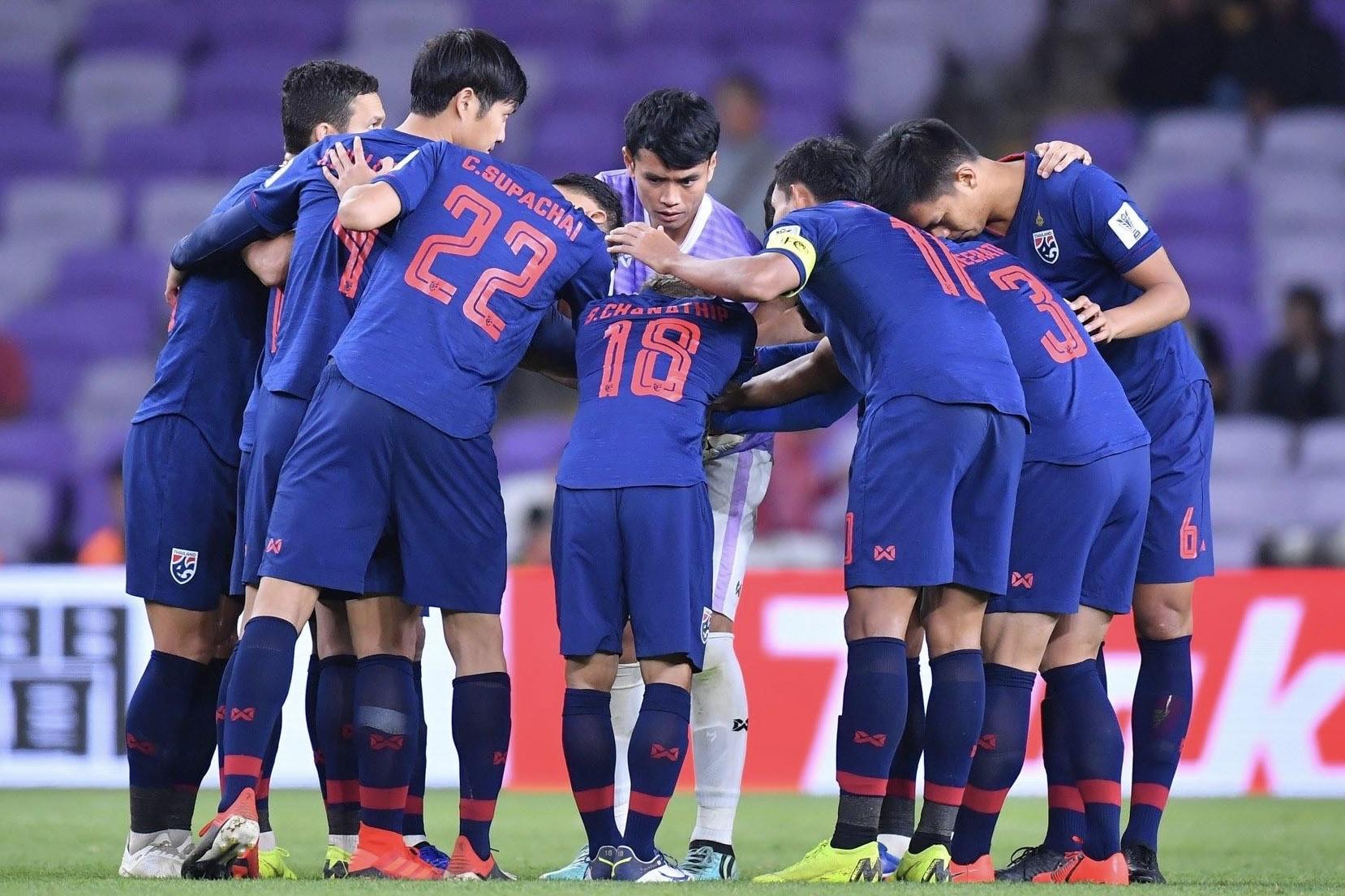 ทีมชาติไทย นฤบดินทร์ วีรวัฒโนดม สารัช อยู่เย็น เกริกฤทธิ์ ทวีกาญจน์ ไชน่า คัพ 2019