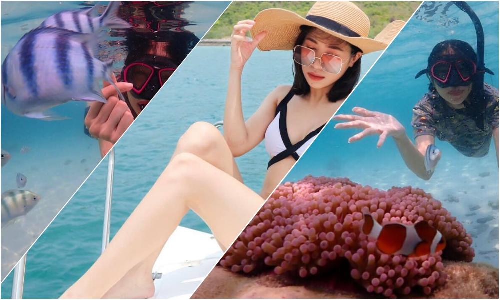 ดำน้ำดูปะการัง ที่เที่ยวชลบุรี รีวิว อ่าวแสมสาร เที่ยวแสมสาร เที่ยวใกล้กรุงเทพ