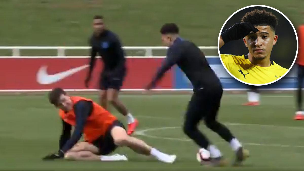 ทีมชาติอังกฤษ ยูโร 2020 รอบคัดเลือก เจดอน ซานโช แจ็ค บัตแลนด์ แฮร์รี่ แม็คไกวร์