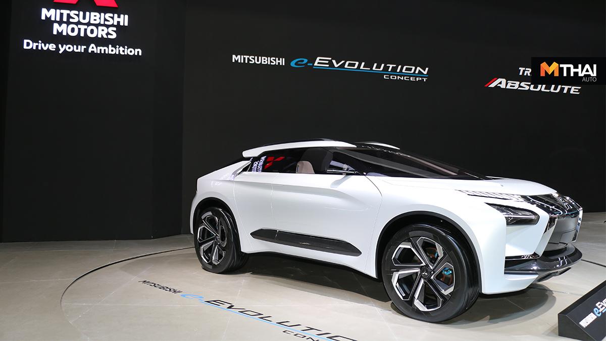 e-Evolution Concept Mitsubishi Triton Absolute อี-อีโวลูชั่น คอนเซปต์ ไทรทัน แอบโซลูท
