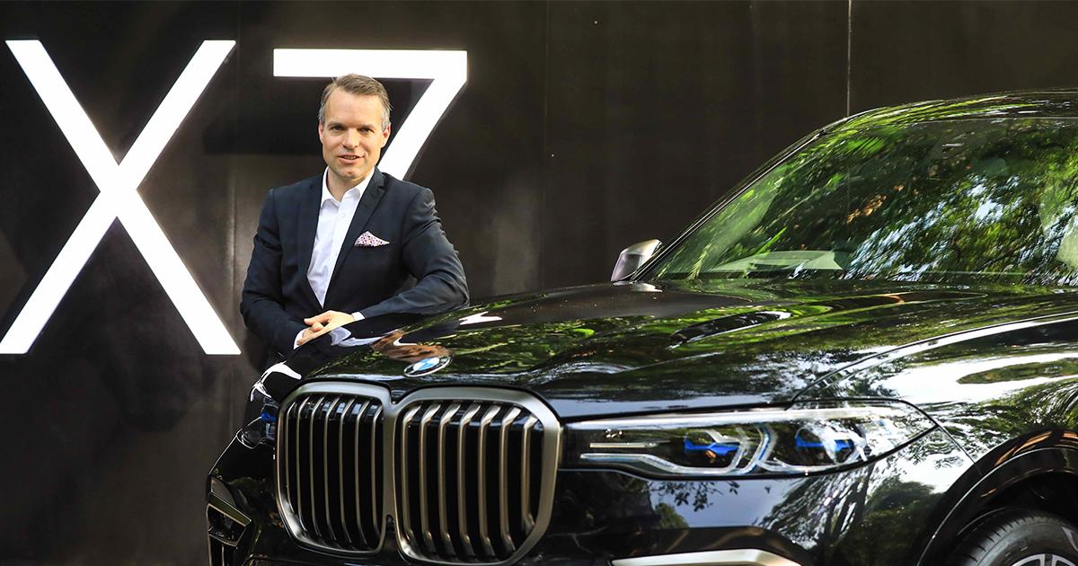 2019 BMW X7 BMW BMW X7 M50d บางกอก อินเตอร์เนชั่นแนล มอเตอร์โชว์ มอเตอร์โชว์ มอเตอร์โชว์ 2019